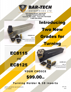 NEW EC8115 AND EC8125 GRADES